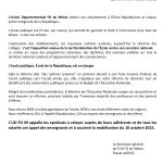communique ecole republique en danger oct 2015